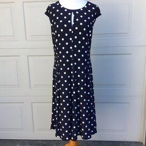 Lauren Ralph Lauren Dress White Polka Dot Dress